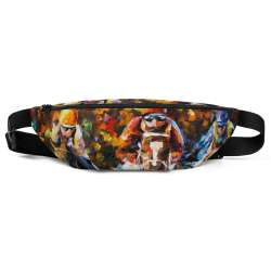 All-Over Print Fanny Pack - Follow the leader