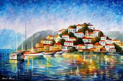 MORNING IN THE HARBOR  - LIMITED EDITION GICLEE