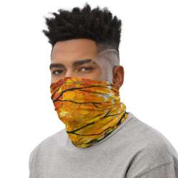 All-Over Print Neck Gaiter  - Autumn Walk