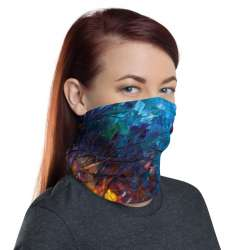 All-Over Print Neck Gaiter  - Alley By the Lake