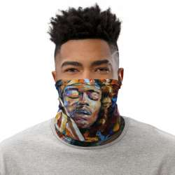 All-Over Print Neck Gaiter  - BB King