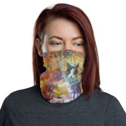 All-Over Print Neck Gaiter  - Cats