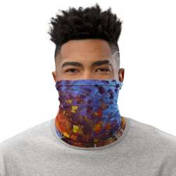 All-Over Print Neck Gaiter  - City by the Lake