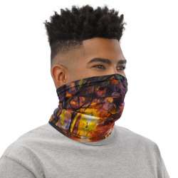 All-Over Print Neck Gaiter  -  Street of the Old Town