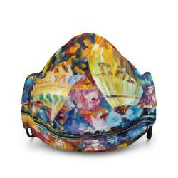 All-Over Print Premium Face Mask - Baloon Festival