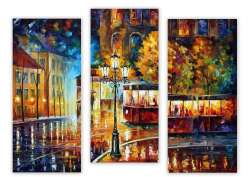 RAINY NIGHT TROLLEY - SET OF 3