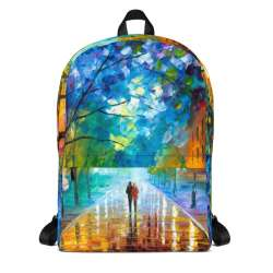 Backpack with print of the painting Freshness Of Cold