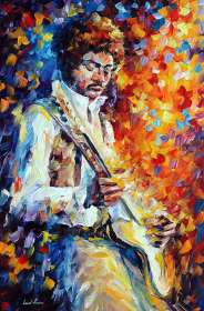 PLAYING GUITAR - JIMI HENDRIX