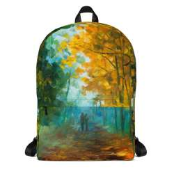 Backpack with print of the painting Hide And Seek