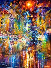 "THE COLORS OF NIGHT PARIS 40""x54"" (100cm x 35cm)"