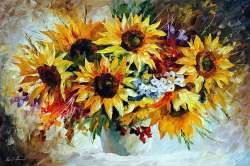 MORNING SUNFLOWERS