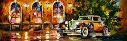 1934 PACKARD by L.Afremov
