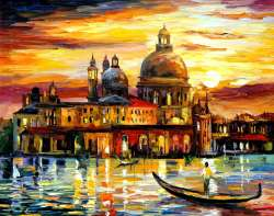 THE GOLDEN SKIES OF VENICE