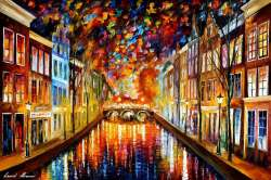 COLORFUL NIGHT AMSTERDAM