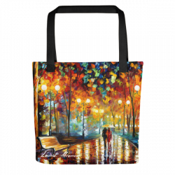 Rain's Rustle - Tote bag by Leonid Afremov