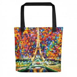 Paris Of My Dreams - Tote bag by Leonid Afremov