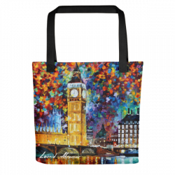 Big Ben London - Tote bag by Leonid Afremov