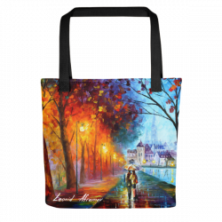 City By The Lake - Tote bag by Leonid Afremov