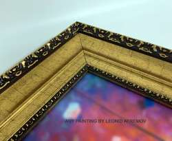 Frame - GOLD PATTERN