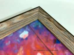 Frame - GRADIENT BROWN WOOD