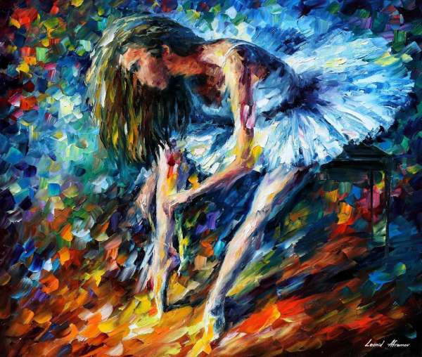 dance of grace painting