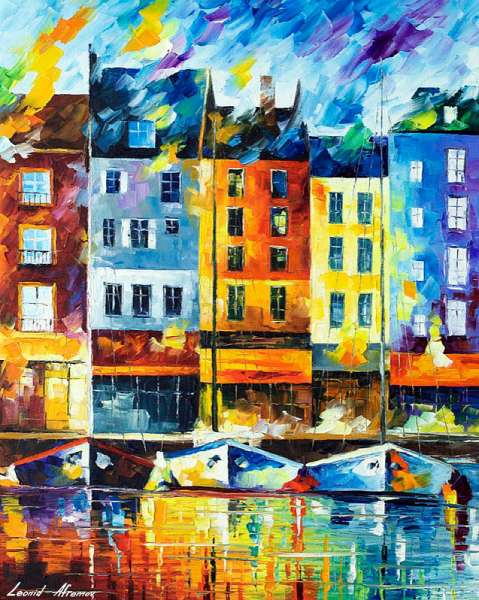 normandy painting, normandy art, normandy artist