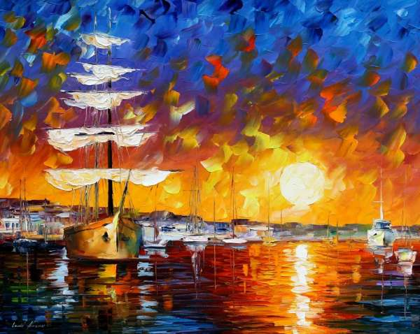 THE SUNSET SAILER