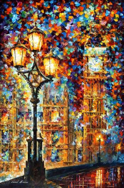 "LONDON'S DREAMS 36""x48"" (90cm x 122cm)"