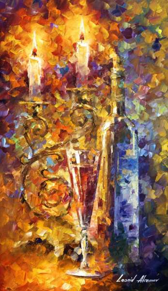 art store images, art store, sweet, wine, leonid, afremov, recreation, canvas, authenticity, colorful, still life, realistic, magic, illusion, palette knife, nostalgic,