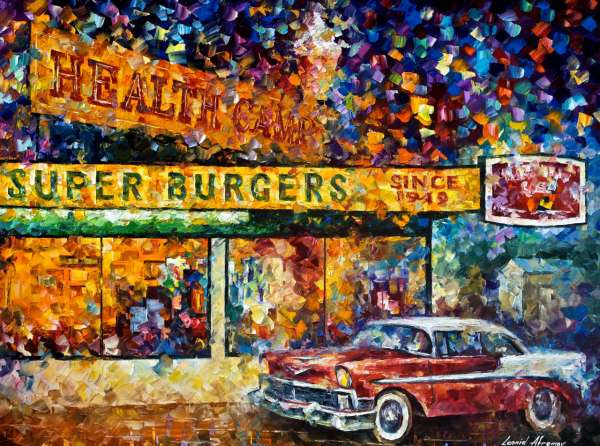 burger paintings