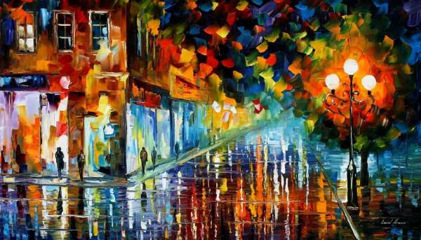 Leonid Afremov, Leonid Afremov paintings