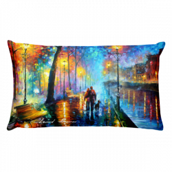 "20"" x 12"" Throw Pillows with different designs by Leonid Afremov"