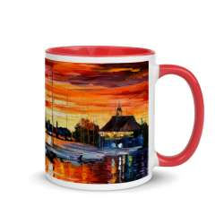 Mug with Color Inside Red