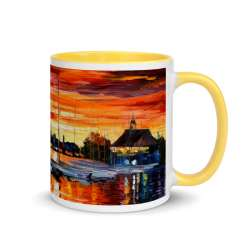 Mug with Color Inside Yellow