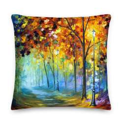"22"" x 22"" Throw Pillows with different designs by Leonid Afremov"