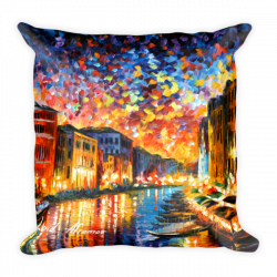 "18"" x 18"" Throw Pillows with different designs by Leonid Afremov"