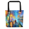 Tote bags with different designs by Leonid Afremov